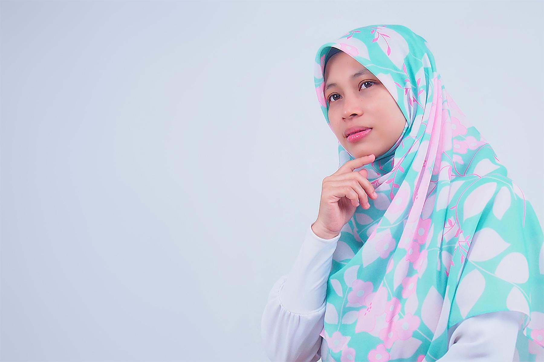 Tudung Bawal Labuh Bidang 50 Cotton Turki Luna Series Slider | AnnurNida