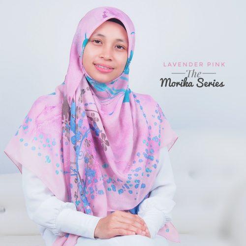Tudung Bawal Labuh Cotton Turki Bidang 60 Lavender Pink
