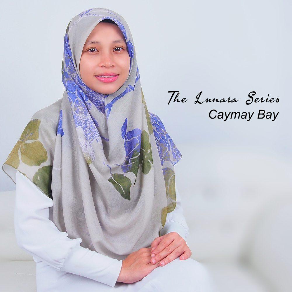 Tudung Bawal Labuh Cotton Turki Bidang 60 Cayman Bay | AnnurNida
