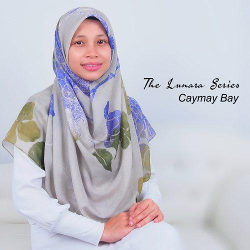 Tudung Bawal Labuh Cotton Turki Bidang 60 Cayman Bay
