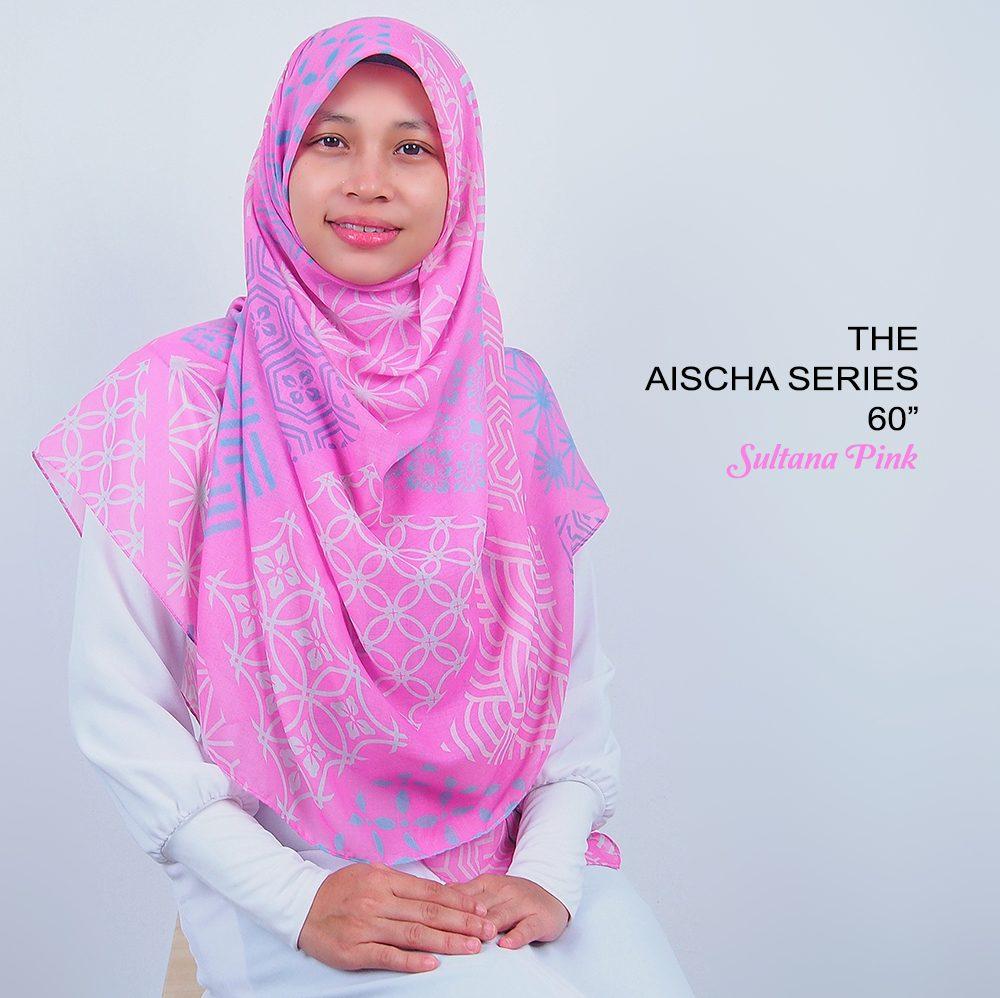 Tudung Bawal Labuh Cotton Turki Bidang 60 Sultana Pink | AnnurNida