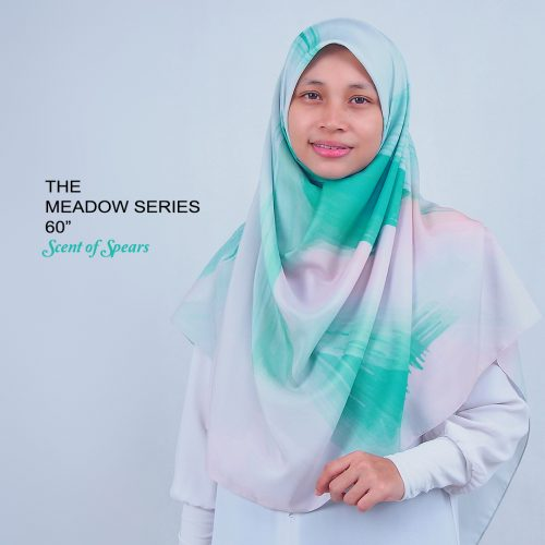 Tudung Bawal Labuh Cotton Turki Bidang 60 Scent of Spears