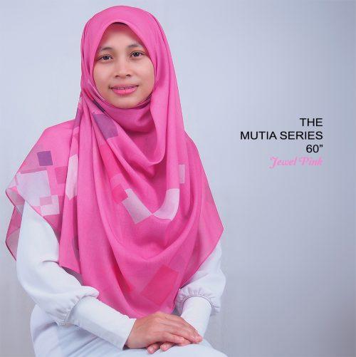 Tudung Bawal Labuh Bidang 60 Cotton Turki Jewel Pink